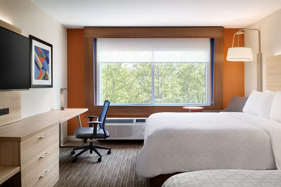 Our spacious, modern rooms are the perfect place to relax!