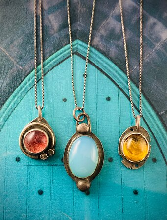 Jewelry for your journeys by Chris Weston of Lafayette, Colorado.