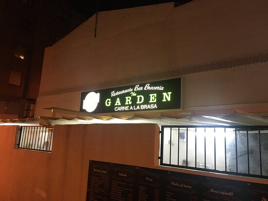 The Garden Restaurant - very very good.