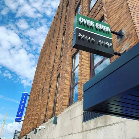 TRYP, Over Eden, & Brick Shop all under one roof.