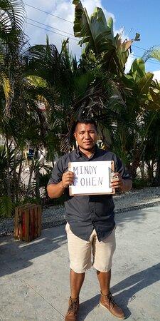 Costa Maya, المكسيك: esperando a mis clientes