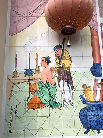 Decorative tiled murals