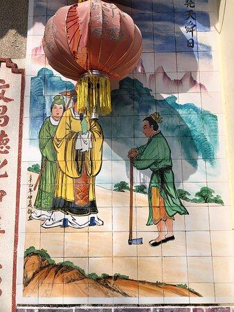 Exterior murals