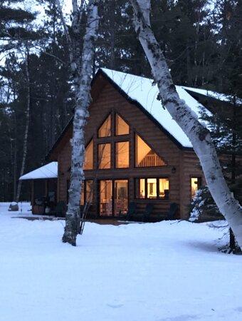 Babbitt, MN: Beautiful cabin at Timber Bay Lodge and Houseboats