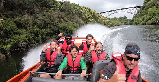 Extreme Jet Boat Tour - 45 minutes: A great way to celebrate turning 12!