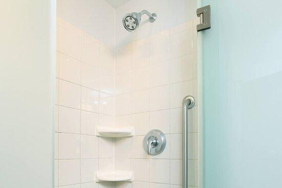 Guest Bathroom - Walk In Shower