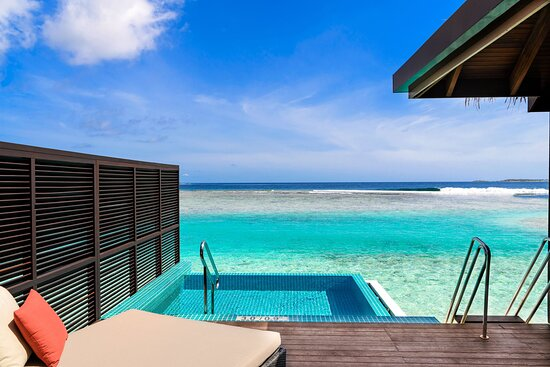 Water Bungalow With Pool Patio