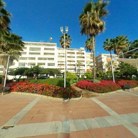 Great seafront promenade
