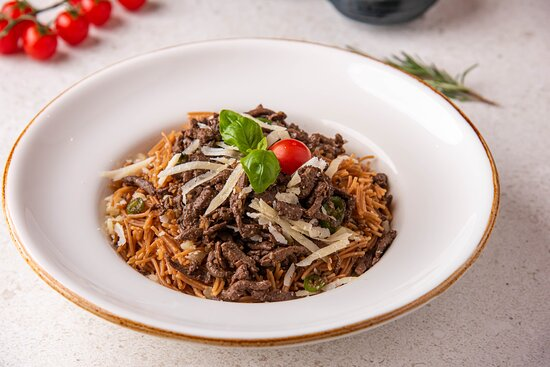 Vermicelli with Liver