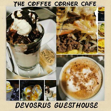 Kathu, Nam Phi: On Site Coffee House DeVos B&B