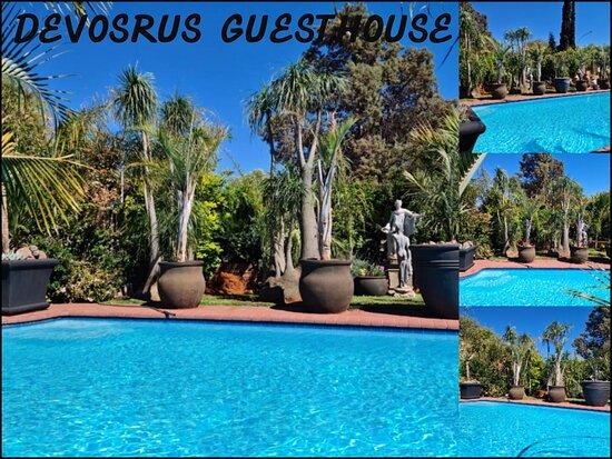 Kathu, Nam Phi: Swimming Pool DeVos B&B