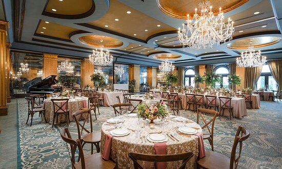 Viennese Ballroom Wedding Setup