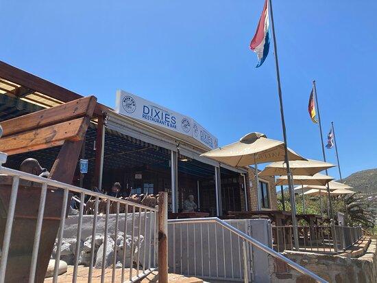 Glencairn, דרום אפריקה: Restaurant Dixies