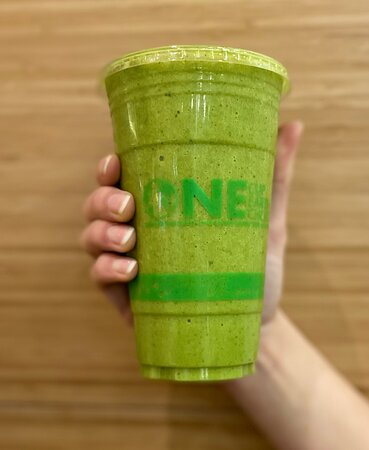 Erie, PA:  Fresh Healthy Café Kale Pineapple Smoothie. There is no better way to get your daily dose of fruits and vegetables.  Kale is extremely high in nutrients and exceptionally low in calories.  Pineapple is packed with nutrients, antioxidants, and other helpful compounds, such as enzymes that can fight inflammation and disease.  I cannot think of anything better to help boost your overall heathy.  Order one today. Online or in person.