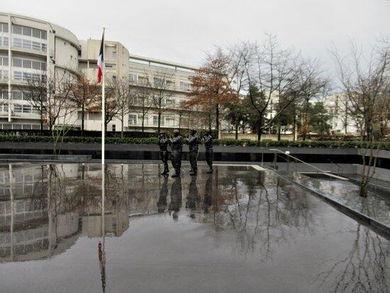 Monument aux morts pour la France en operations exterieures (OPEX)