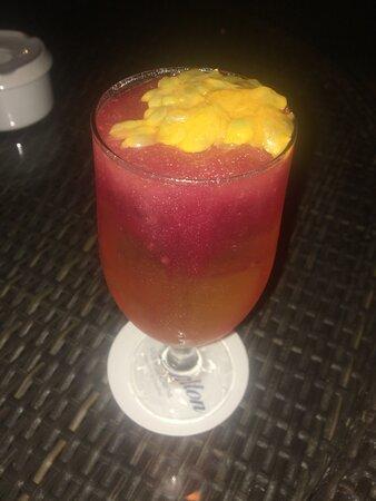 Un trago que le fue puesto mi nombre segun la bar women :)