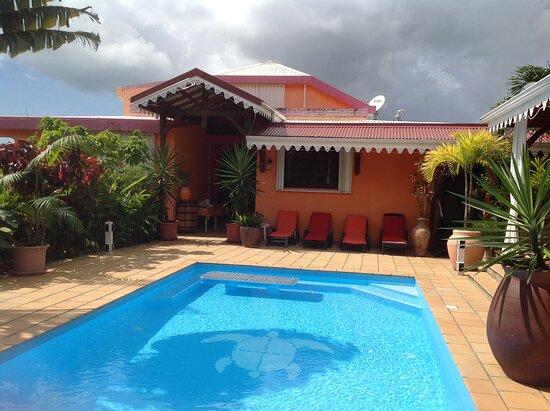 Riviere-Salee, Martinique: la piscine