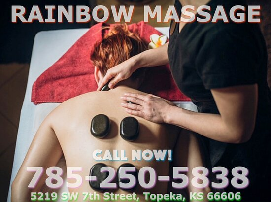 Rainbow Massage is an Asian massage spa designed to help you reduce stress, relieve build up chronic pain, and increase the overall quality of your life! We specialize in multiple affordable, customized treatments to meet the needs of a wide variety of clients in a peaceful setting! We are proud to be providing Authentic Asian Massage therapy services in our beloved community of Topeka, KS!