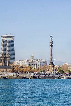 Barcelona waterfront is breathtaking