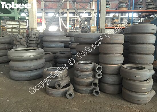 China: Tobee stocks a lot of metal lined slurry pump spares for meeting the needs of our customers Email: Sales7@tobeepump.com Web: www.tobeepump.com | www.slurrypumpsupply.com | www.tobee.cc | www.hydroman.cn