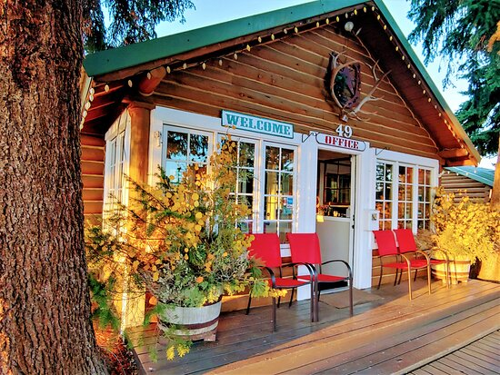 The Log Cabin Motel