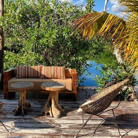Muyal Tulum es el lugar ideal para disfrutar de exquisita comida a lado de un espectacular cenote.