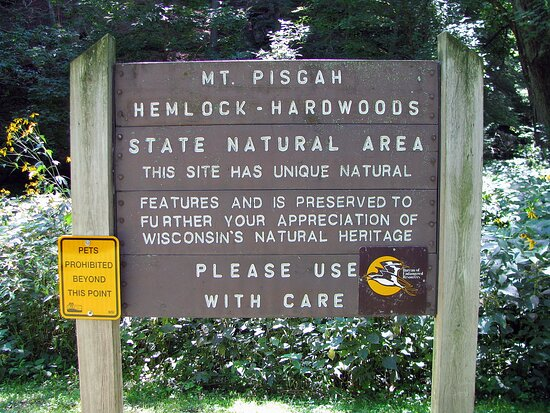 State Natural Area with the park