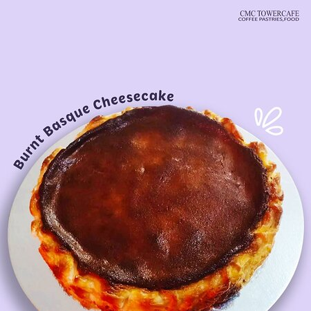 Introducing Chef Tin's own version of Burnt Basque Cheesecake!