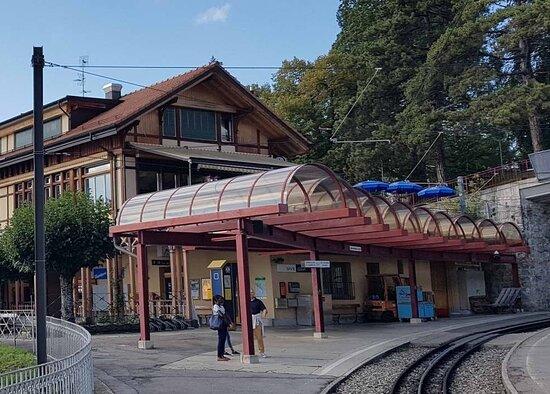 Funiculaire Territet-Glion (Gare de Glion - VD)