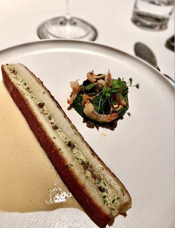 """Glion, Schweiz: dover sole, bouchot musselspers, """"dieppoise"""" sauce"""