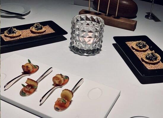 Glion, Schweiz: appetizer