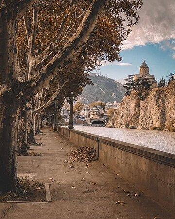 Beautiful city of Tbilisi