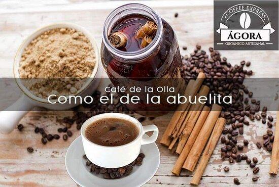 Cafe de Olla caliente... pidelo...