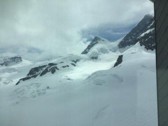 Jungfraujoch-Top of Europe train ticket: アレッチ氷河