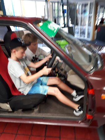 Test drive at ages 9 and 10
