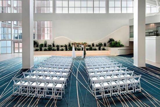 Atrium - Wedding Ceremony