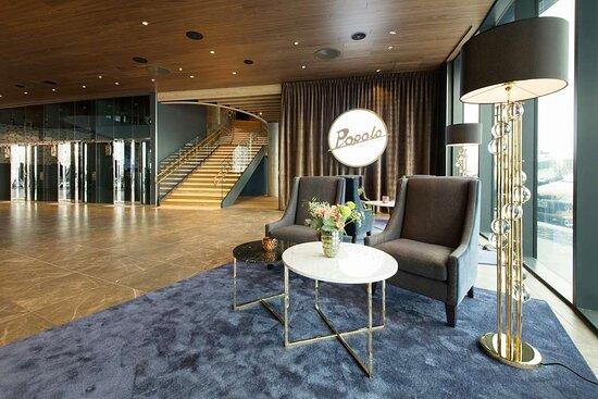 Scandic Flesland Airport lobby