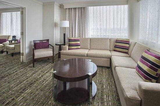 One-Bedroom Suite Living Area