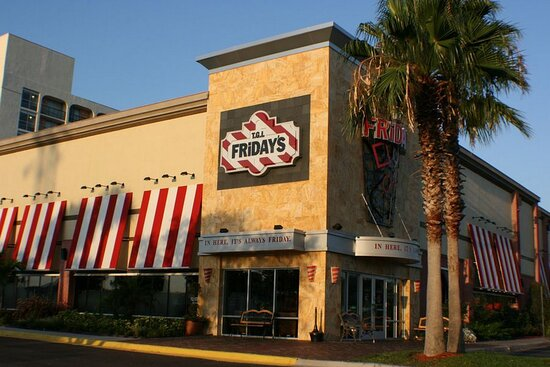 TGI Friday's is on site!