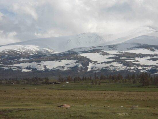 Bayan-Olgii Province, Mongolia: Khoton-Khurgan lake