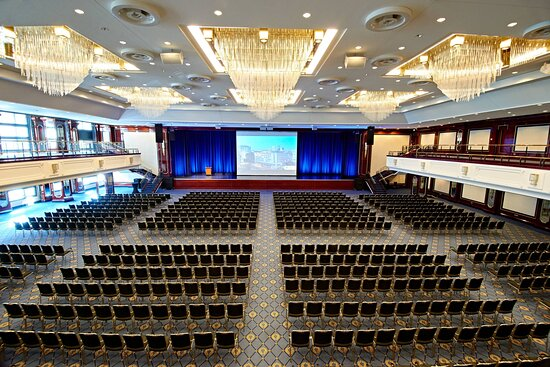 The Grand Ballroom Theater Setup