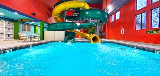 Two 30ft Indoor Water Slides