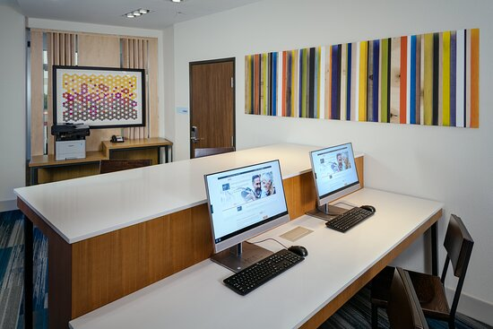 Our business centers features computer work stations and a printer