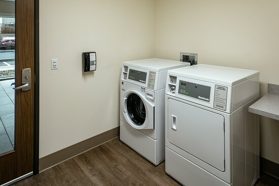 Our laundry facility is open 24 hours a day for your convenience.