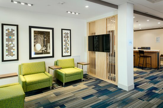 Work or relax in our spacious lobby.