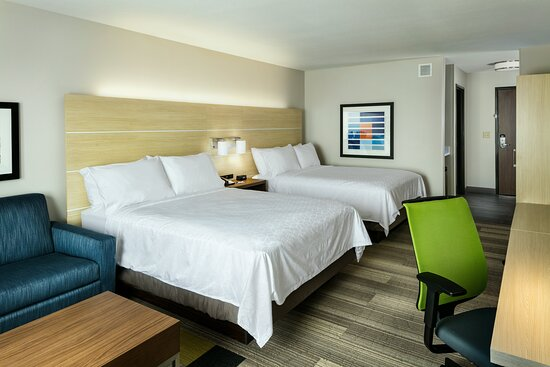 Spread out in our spacious suites with separate living areas.