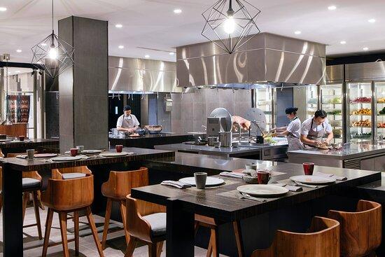 Double Ikat - Open Kitchen
