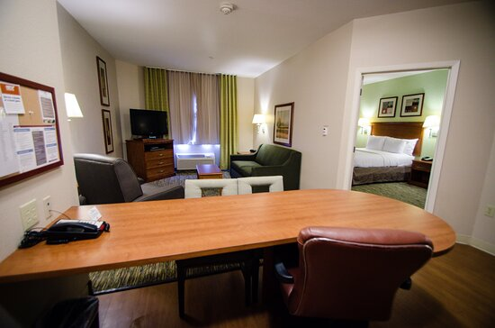 Our spacious one bedroom suite