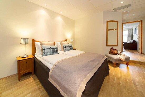 Scandic Grimstad Interior room junior suite seperat bedroom