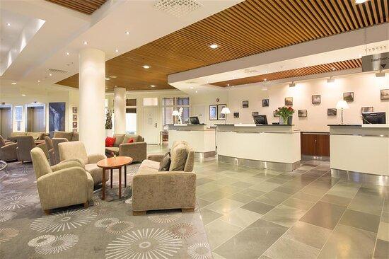 New Scandic Seilet Molde front desk reception lobby